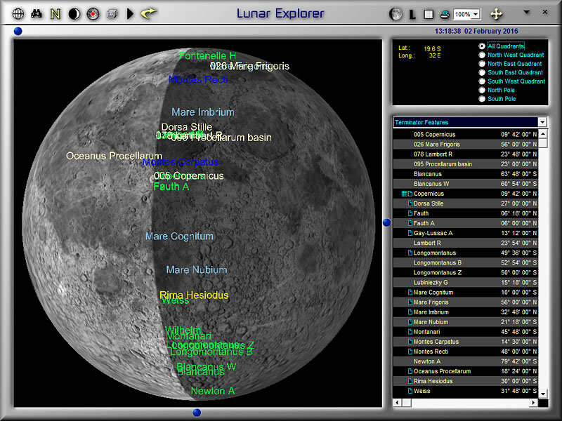 Learn the Moon with the Lunar Explorer